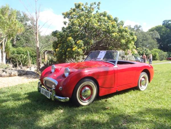Austin Healey Sprite Platinum Car Rental