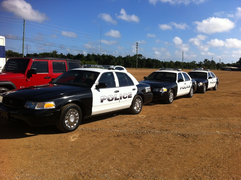 Police Cars at Platinum Car Rental
