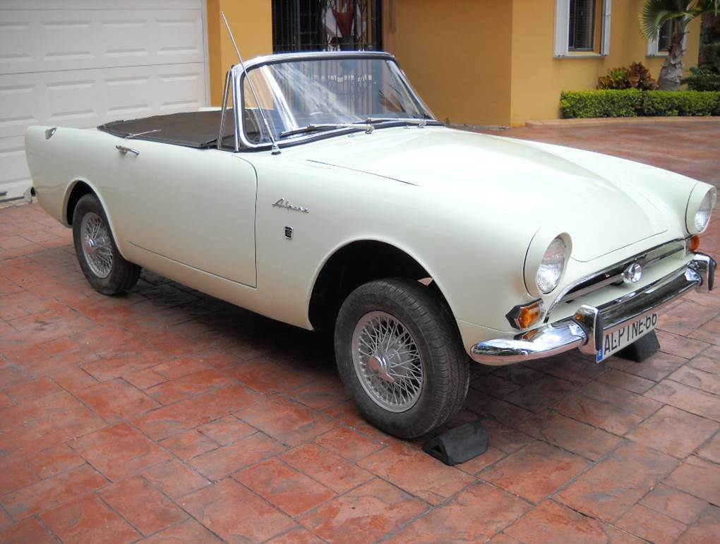Sunbeam Alpine Platinum Car Rental