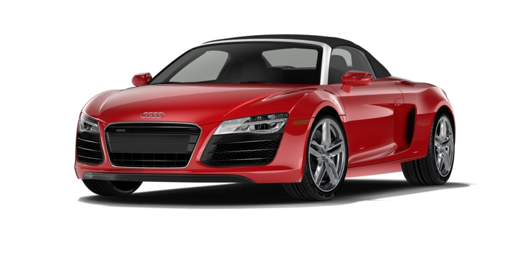 Audi R8 Spyder Convertible Platinum Car Rental
