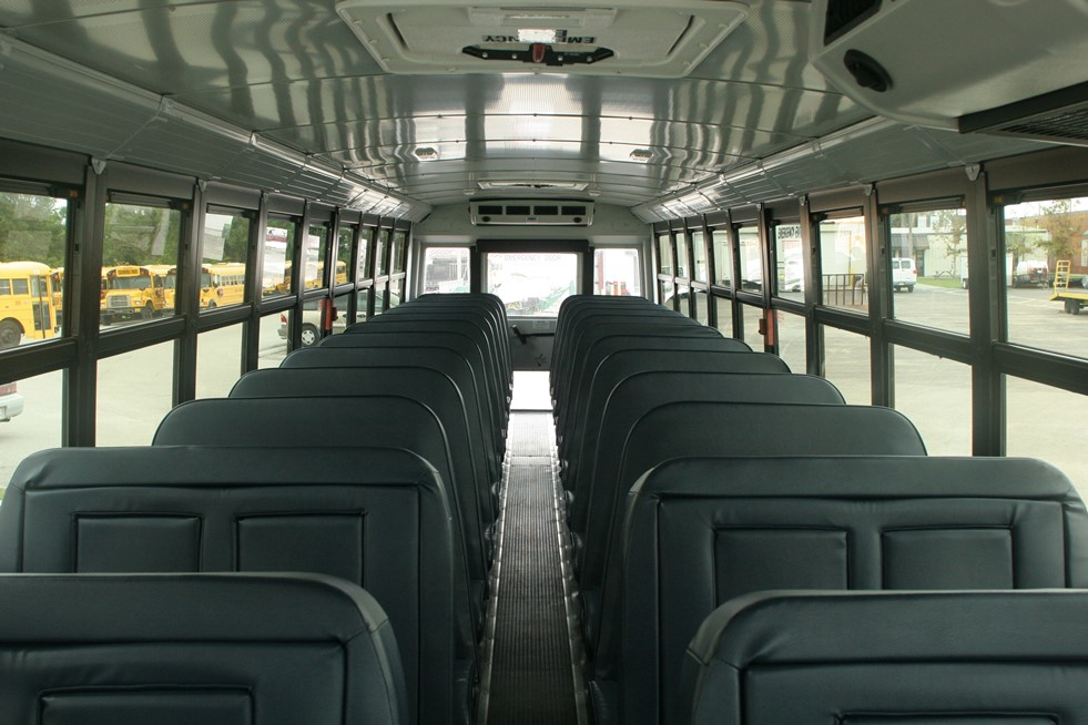 School Bus at Platinum Car Rental