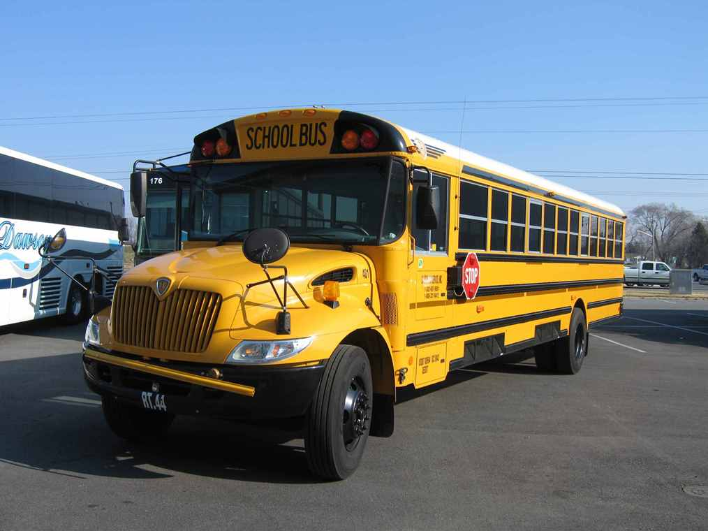 School Bus Platinum Car Rental