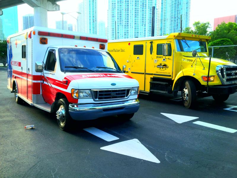 Ambulances at Platinum Car Rental
