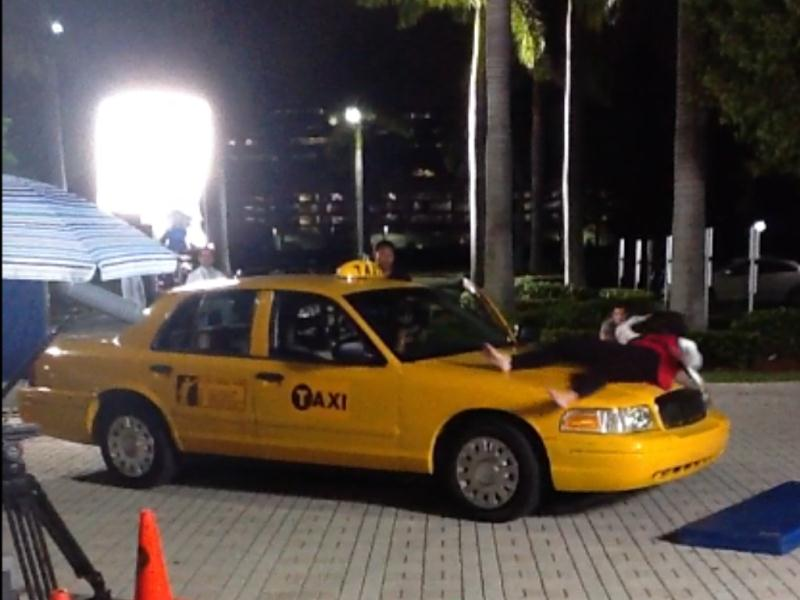Taxis for TV at Platinum Car Rental
