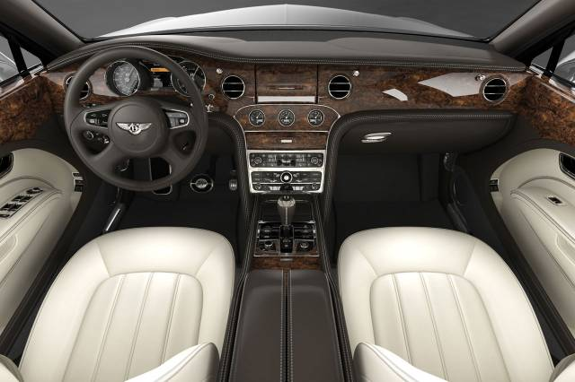 Bentley Mulsanne at Platinum Car Rental