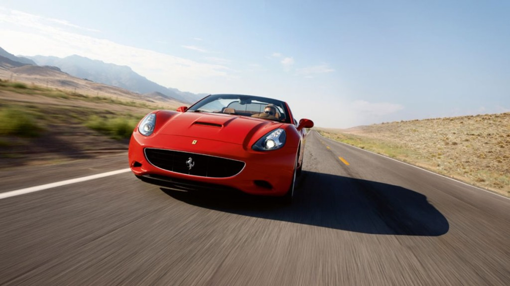 Ferrari California at Platinum Car Rental
