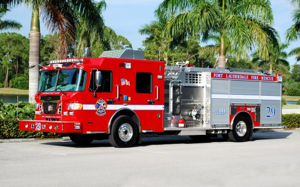 Fire Rescue Cars at Platinum Car Rental