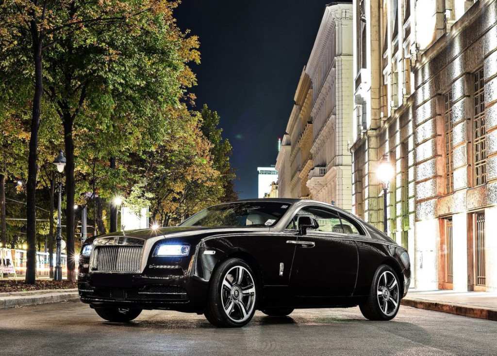 Rolls Royce Wraith Platinum Car Rental